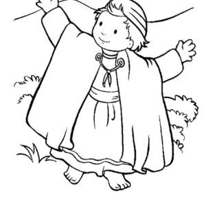 David The Shepherd Boy Hold His Sheep Coloring Pages Kids Play Color Coloring Pages Bible Coloring Pages Bible Heroes