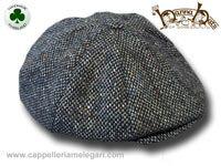 Berretto irlandese a 8 spicchi Hanna Hats Newsboy tweed Cap 6743e5ecc737