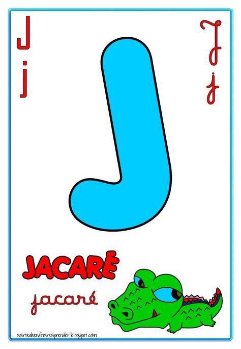 Alfabeto Quatro Tipos De Letras Reformulado Alfabeto Em