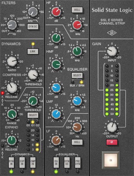 Ssl 4000 E Channel Strip Collection Uad Audio Plugins Universal Audio Channel Strips Audio Ssl