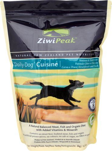 Ziwipeak All Natural Air Dried Grain Free Dry Dog Food Venison