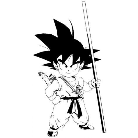 Disegno Di Goku Dragon Ball Da Colorare Nel 2020 Idee Per