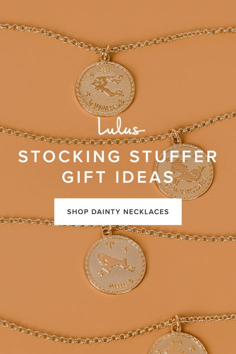 The holidays are just around the corner. Add chic and fashionable dainty necklaces from Lulus to any stocking. With layering styles ranging from boho to sophisticated luxe, we have the best styles and selection of dainty necklaces perfect for completing any outfit.