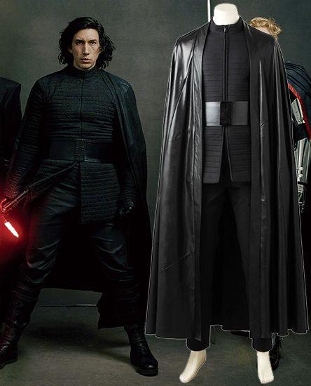 Kylo Ren Costume Of Star Wars The Last Jedi Kylo Ren Costumes Kylo Ren Cosplay Jedi Cosplay