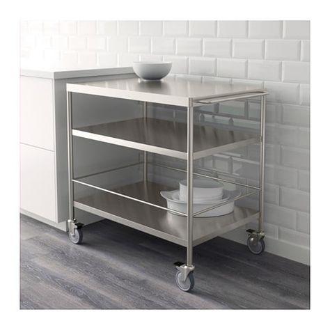 GRUNDTAL Trolley Stainless steel IKEA syniadau ty Pinterest