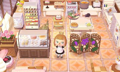 Kitchen Island Acnl bewareofpotato: tried to get as much as possible into the picture
