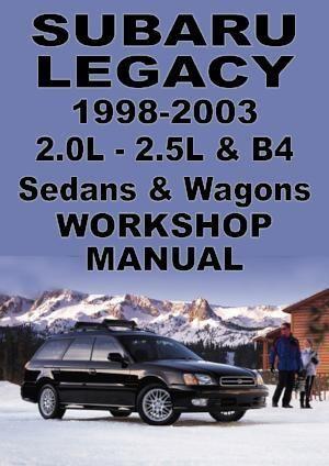 Subaru Legacy 1998 2003 Workshop Manual Subaru Legacy Subaru Subaru Legacy Gt
