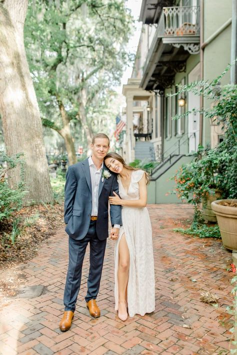 Our gorgeous Savannah elopement! We had to postpone the big wedding and I'm sharing all the details on the blog. #savannah #savannahwedding #savannahelopement #elopement #forsythpark Forsyth Park Fountain #elopement #elopementideas #elopementdestinations #elopementdress #georgiaelopement #southernwedding #weddingphotography #georgiawedding #downtownsavannah