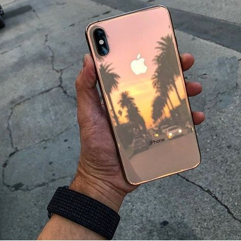 iPhone XS Max - Gold 🌴 Credit @asenseoftri Great shot 😍""