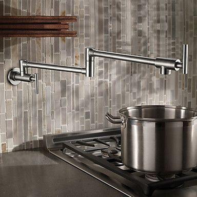 70 39 Multi Function Wall Mount Kitchen Faucet Water Saving