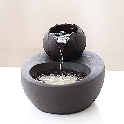 Amazon Com 77a Ceramic Cat Pet Drinking Fountain Automatic Ultra Quiet Fish Water Bowel Lotus Outlet Black Cat Water Fountain Drinking Fountain Diy Fountain