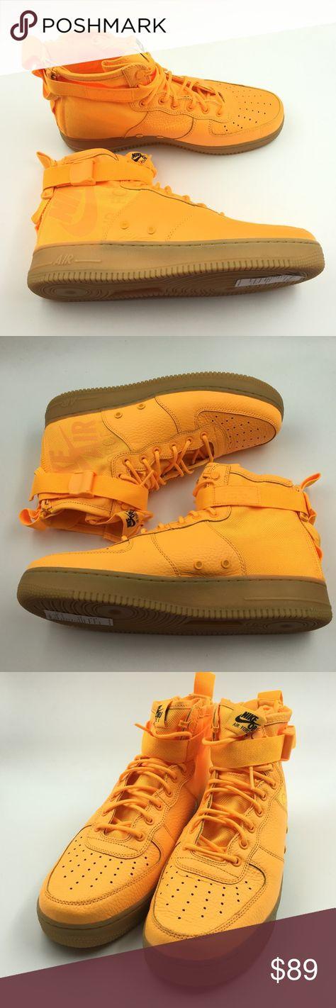 f413ea339a6 Nike Orange Laser OBJ AF1 G1211677 Nike Orange Laser 917753-801 OBJ SF Air  Force