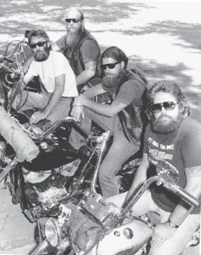 outlaw bikers, modern outlaw bikers, one percenter