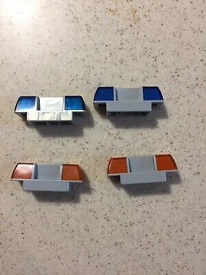 Lego Duplo BLUE EMERGENCY SIREN LIGHT LIGHTS for Firetruck Ambulance Police Car
