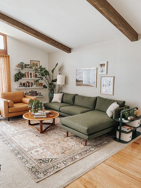 Our Living Room Reveal With Article