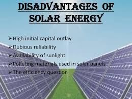 What Are The Disadvantages Of Solar Technology? - Science
