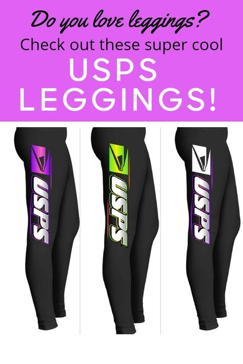 Very Cool Usps Leggings For Postal Workers And Mail Carriers So