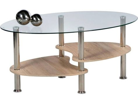 Carryhome Couchtisch Sonoma Eiche B H T 55 42 90 Table