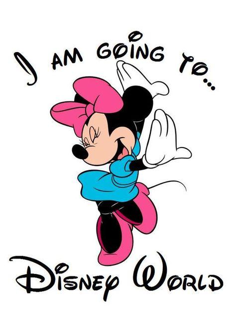 Je vais à Disneyland Mickey Mouse KIDS T Shirt