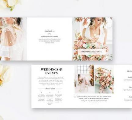 38 New Ideas For Wedding Planner Brochure Design In 2020 Wedding Planner Marketing Event Planning Planners Event Planning Brochure