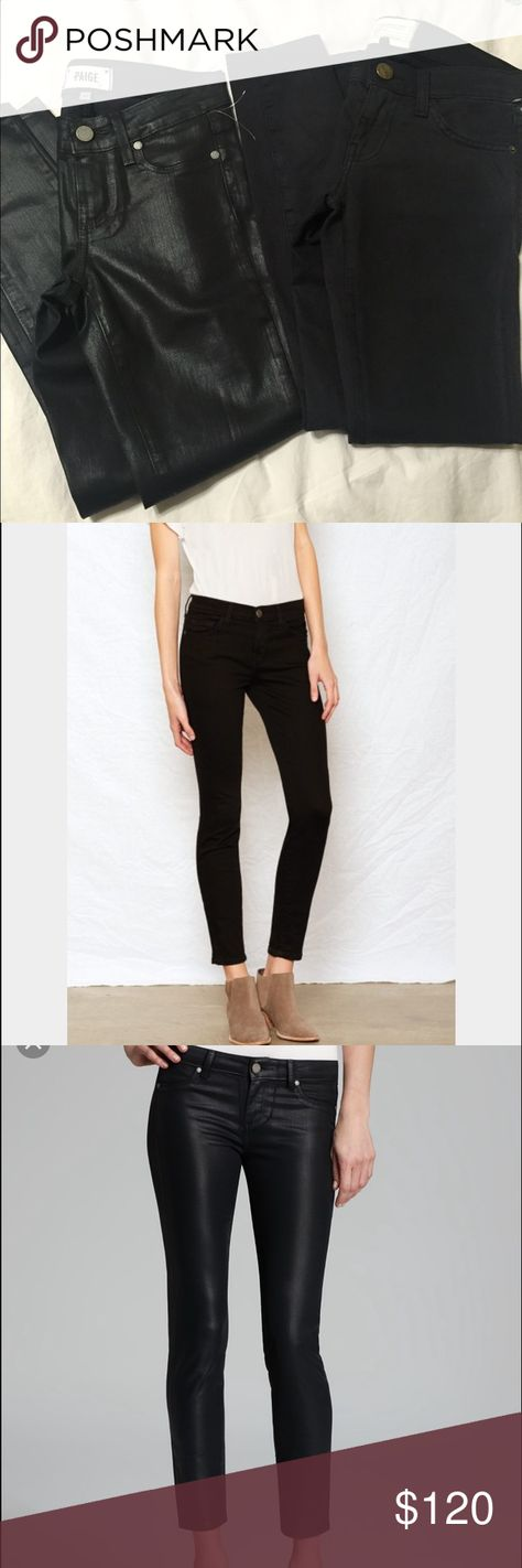 ⛔️ONE DAY SALE⛔️Black skinny jeans bundle Paige brand new missing tag.size 24 retail price $219.                                                                      Current Elliott skinny jeans brand new/no tag.size 23.retail$184(still available in Nordstrom ) Current/Elliott Jeans Skinny