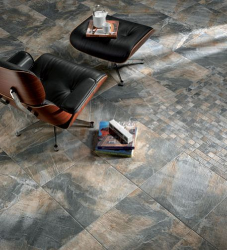 #Céragrèsinspiration @CERAGRES  - FOSSIL STONE - it's official! I've just run out of floors to redo!