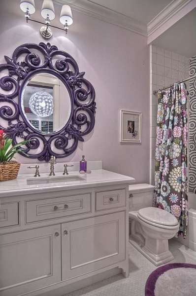 35 Best Purple Bathroom Ideas For 2021 Decor Home Ideas Girls Bathroom Design Girl Bathrooms Girls Bathroom