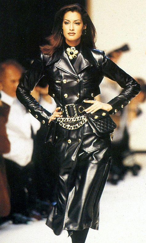 Leather fashion for real: Chanel 1992
