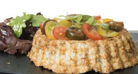 Dieta de pescado y verduras