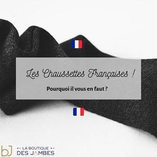 comment choisir nouveau style et luxe code promo Les chaussettes françaises de La Boutique des Jambes ...