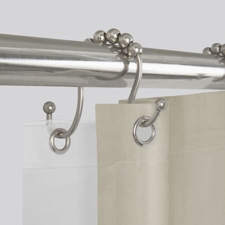 Better Homes Gardens Easy Glide Open Double Shower Hooks 12