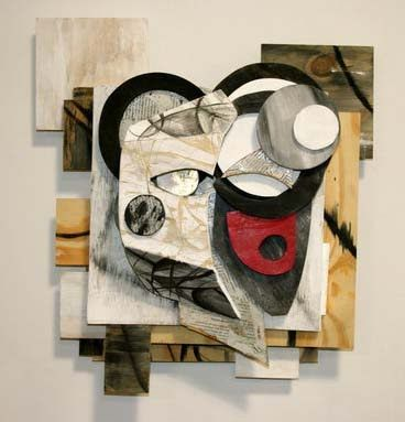 contemporary artists of today | Contemporary (modern) abstract relief sculpture