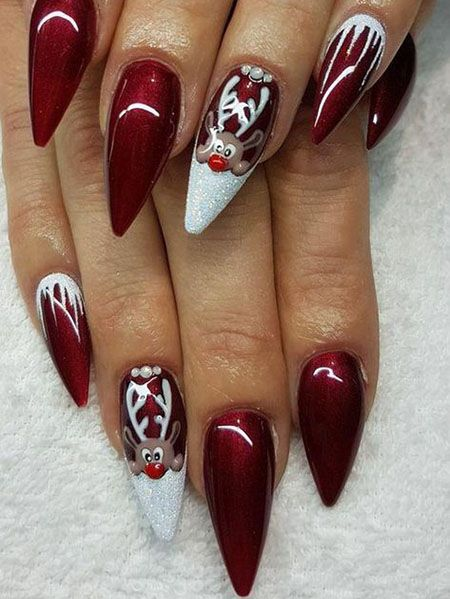 20 Trending Winter Nail Colors \u0026 Design Ideas for 2019