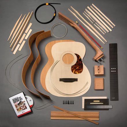 Stewmac Om Acoustic Guitar Kit Acoustic Guitar Kits Guitar Kits Guitar For Beginners