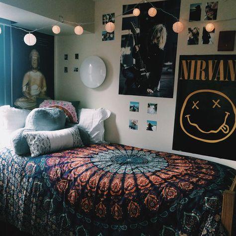 www.jaipurhomedecor.com Blue Mandala bed spread, Indian Mandala tapestry, Wall Hanging, Wall Decor tapestry, hippie tapestry, Psychedeic Tapestry, Dorm decor, Bed spread