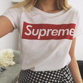 nueva alta calidad más popular vendido en todo el mundo Resultado de imagen para ropa supreme mujer | Ropa