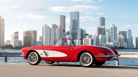 Win a Rare 1959 Corvette® Fuel Injection Convertible