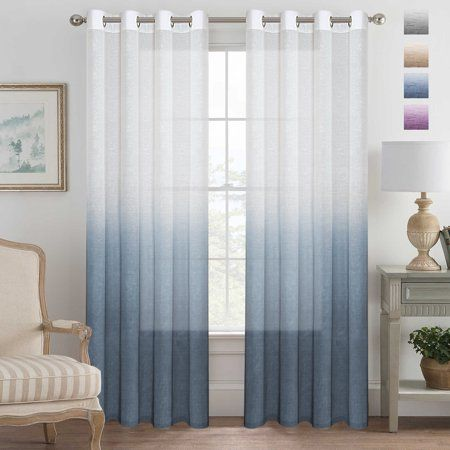 Home Ombre Curtains Elegant Curtains Sheer Linen Curtains