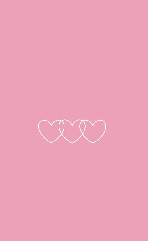 Pin on Love pink wallpaper