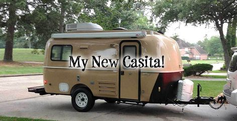 Mrs. Padilly's Travels is a travel and DIY website. Articles include her popular makeover series on her New Casita Travel Trailer.