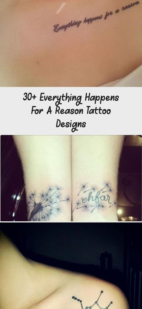 Little Forearm Tattoo Saying everything happens for a reason. #forearmtattoosDrawings #forearmtattoosForGuys #Sunflowerforearmtattoos #Butterflyforearmtattoos #Roseforearmtattoos