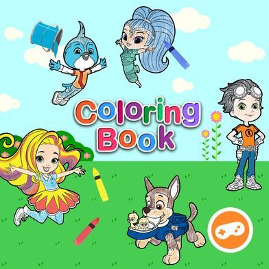 Nick Jr Coloring Book Spring 2018 Coloring Books Nickelodeon Learning Games
