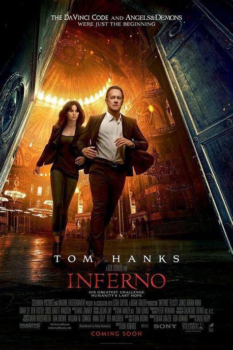 The DaVinci Code:  Inferno Poster
