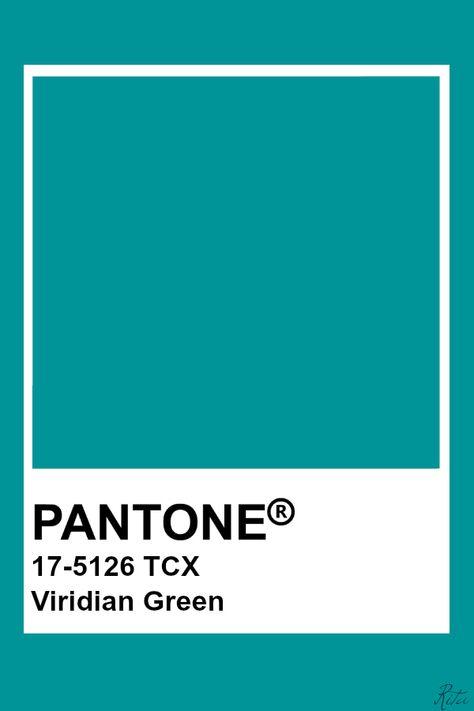 Pantone Viridian Green