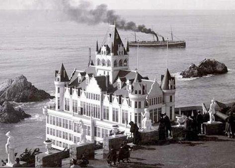 Cliff House San Francisco Photos | Old San Francisco Cliff House Victorian Romantic Edwardian Romance ...