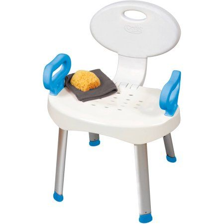 Carex E Z Bath And Shower Seat With Handles Shower Chair With