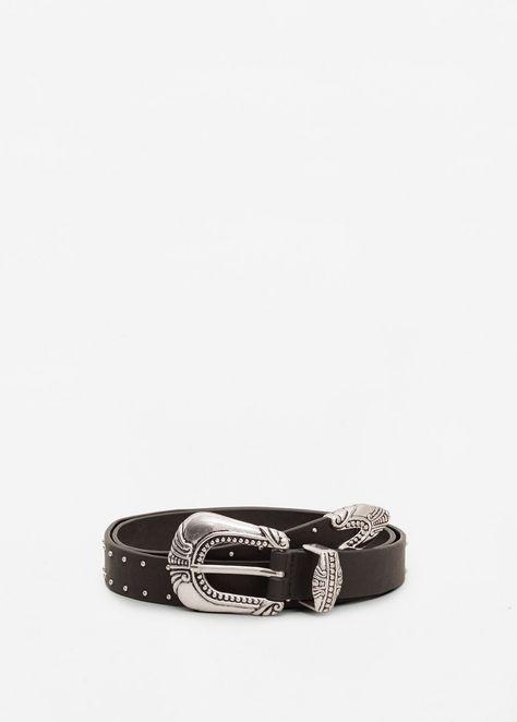 Cinturón tachuelas - Mujer  9c965cd46a8f