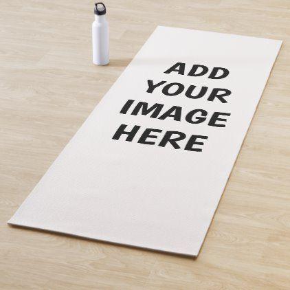 Create And Personalize Your Own Yoga Mat Zazzle Com In 2020 Yoga Mat Custom Yoga Mat Yoga
