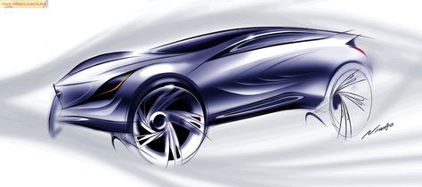 Mazda Ryuga Concept   Design Sketch   Design 手書き   Pinterest   Design  Language, Mazda And Language