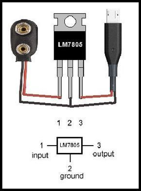 How To Make Power Bank Using 9v Battery 9v Ban 9v Ban Bank Battery Electronic Power Schaltplan Elektroniken Elektrotechnik